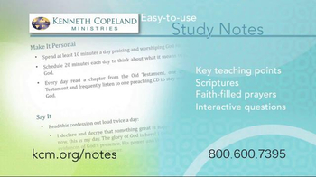 Kenneth Copeland Ministries TV Spot, 'Study Notes' - Thumbnail 5