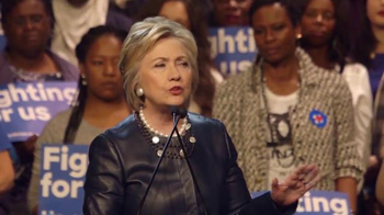 Hillary for America TV Spot, 'Stronger Together' - Thumbnail 8
