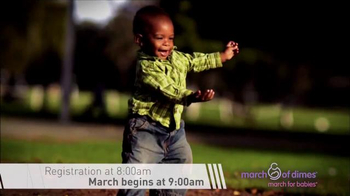 March of Dimes TV Spot, 'KING 5: 2016 March for Babies' - Thumbnail 4