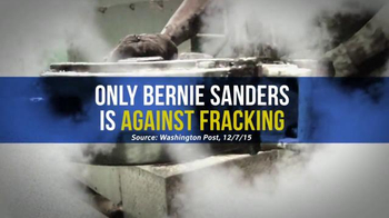 Bernie 2016 TV Spot, 'No Fracking Anywhere' - Thumbnail 4