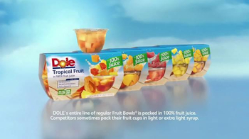 Dole Fruit Bowls TV Spot, 'Mixed Doubles' - Thumbnail 7