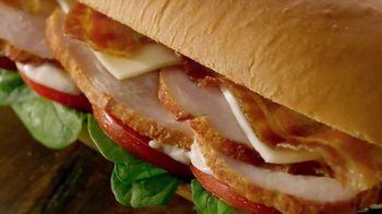 Subway Carved Turkey & Bacon Sandwich TV Spot, 'Let's Talk Turkey' - 2790 commercial airings