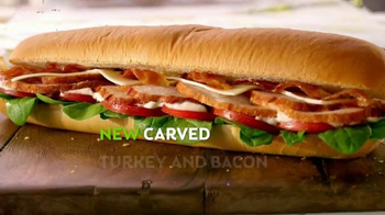 Subway Carved Turkey & Bacon Sandwich TV Spot, 'Let's Talk Turkey' - Thumbnail 4