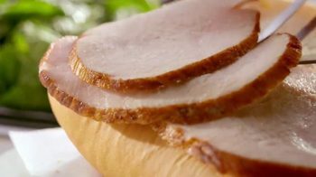 Subway Carved Turkey & Bacon Sandwich TV Spot, 'Let's Talk Turkey' - Thumbnail 5