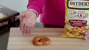 Snyder's Pretzel Pieces of Hanover TV Spot, 'For Your Own Good' - Thumbnail 3