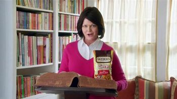 Snyder's of Hanover Pretzel Pieces TV Spot, 'Dictionary' - 2434 commercial airings