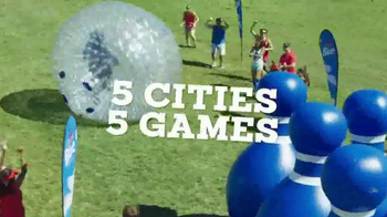 Labatt Beer TV Spot, '2016 Undomesticated Games' - 291 commercial airings