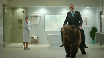 Build.com TV Spot, 'Home Improvement is a Real Bear: Spa Bathroom' - 633 commercial airings
