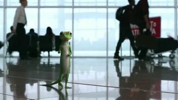 GEICO TV Spot, 'Baggage Claim: Gecko Journey' - Thumbnail 2