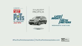 2017 Chrysler Pacifica TV Spot, 'The Secret Life of Pets' Feat. Seth Meyers - Thumbnail 8