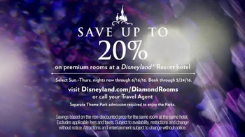 Disneyland Diamond Celebration TV Spot, 'Premium Rooms' - Thumbnail 3