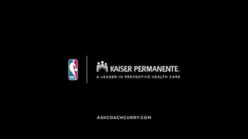 Kaiser Permanente TV Spot, 'Good Habits' Ft. Stephen Curry, Ayesha Curry - Thumbnail 9