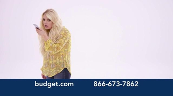 Budget Rent a Car TV Spot, 'You've Arrived' Featuring Jessica Simpson - Thumbnail 1
