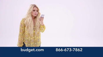 Budget Rent a Car TV Spot, 'You've Arrived' Featuring Jessica Simpson - Thumbnail 2