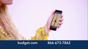 Budget Rent a Car TV Spot, 'You've Arrived' Featuring Jessica Simpson - Thumbnail 3