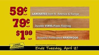 Lumber Liquidators TV Spot, 'Distressed Flooring' - Thumbnail 9