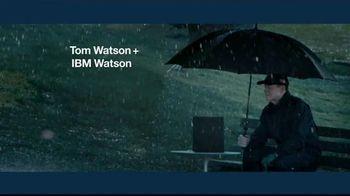 IBM Watson TV Spot, 'Tom Watson + IBM Watson on Weather' - 89 commercial airings