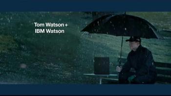 IBM Watson TV Spot, 'Tom Watson + IBM Watson on Weather'