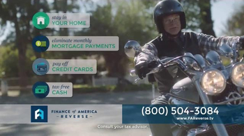 Finance of America Reverse TV Spot, 'Enjoy Your Home and Get Tax-Free Cash' - Thumbnail 4