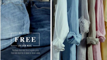 JoS. A. Bank Buy One Get One Free Sale TV Spot, 'All Fits' - Thumbnail 4