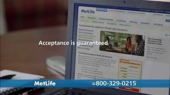 MetLife Guaranteed Acceptance Whole Life Insurance TV Spot, 'Questions' - Thumbnail 9