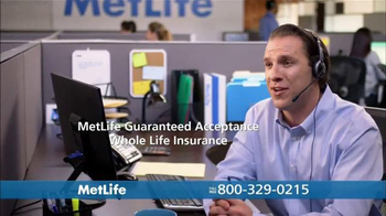 MetLife Guaranteed Acceptance Whole Life Insurance TV Spot, 'Questions' - 1062 commercial airings