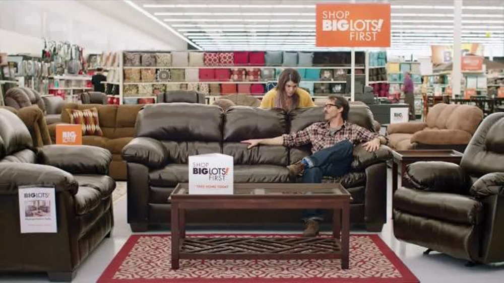 Big Lots Tv Commercial Take It Home Today Sofa Ispot Tv