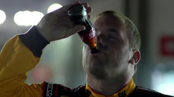 Coca-Cola TV Spot, 'NASCAR: Forgiveness' Feat. Denny Hamlin, Ryan Newman - Thumbnail 5