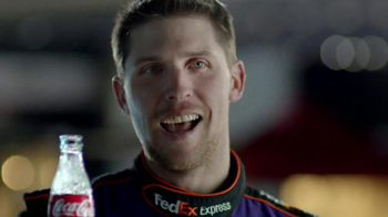Coca-Cola TV Spot, 'NASCAR: Forgiveness' Feat. Denny Hamlin, Ryan Newman - Thumbnail 9