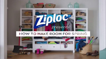 Ziploc Space Bag TV Spot, 'Make Room for Spring' - Thumbnail 2