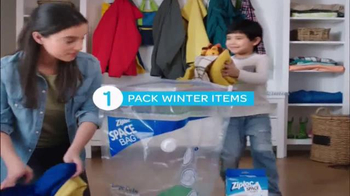 Ziploc Space Bag TV Spot, 'Make Room for Spring' - Thumbnail 4