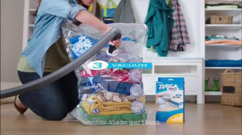 Ziploc Space Bag TV Spot, 'Make Room for Spring' - Thumbnail 7