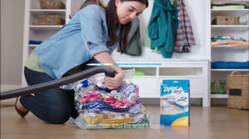 Ziploc Space Bag TV Spot, 'Make Room for Spring' - Thumbnail 8