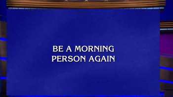 Aleve PM TV Spot, 'Jeopardy: Morning Person'