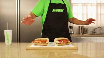 Subway Carved Turkey & Bacon Sandwich TV Spot, 'Magic' - Thumbnail 10