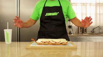 Subway Carved Turkey & Bacon Sandwich TV Spot, 'Magic' - Thumbnail 7