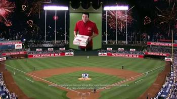 Papa John's TV Spot, 'Pizza oficial las Grandes Ligas' [Spanish] - Thumbnail 5