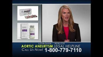 Aylstock, Witkin, Kreis & Overholtz Law TV Spot, 'Levaquin & Avalox'