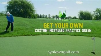 SYNLawn TV Spot, 'Watson for SYNLawn Golf' Featuring Tom Watson - 63 commercial airings