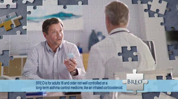 Breo Ellipta TV Spot, 'Puzzle Piece'