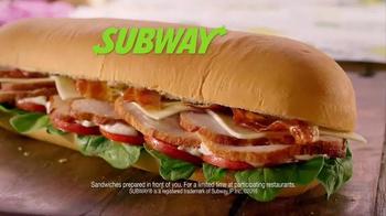 Subway Carved Turkey and Bacon Sandwich TV Spot, 'Cornucopia' - Thumbnail 8