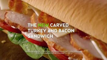 Subway Carved Turkey and Bacon Sandwich TV Spot, 'Cornucopia' - Thumbnail 7