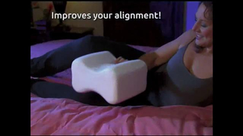Forever Comfy Cooling Knee Pillow TV Spot, 'Anatomically Aligned Support' - Thumbnail 1