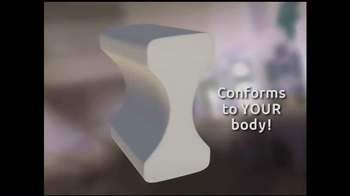 Forever Comfy Cooling Knee Pillow TV Spot, 'Anatomically Aligned Support' - Thumbnail 3