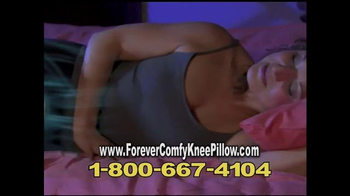Forever Comfy Cooling Knee Pillow TV Spot, 'Anatomically Aligned Support' - Thumbnail 6