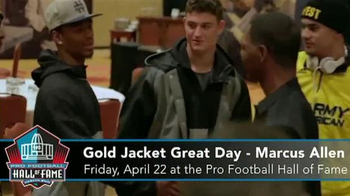 Pro Football Hall of Fame Gold Jacket Great Day TV Spot, 'Marcus Allen' - Thumbnail 3