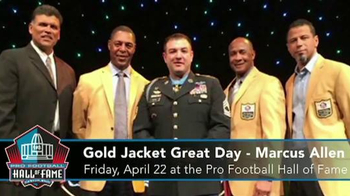 Pro Football Hall of Fame Gold Jacket Great Day TV Spot, 'Marcus Allen' - Thumbnail 4