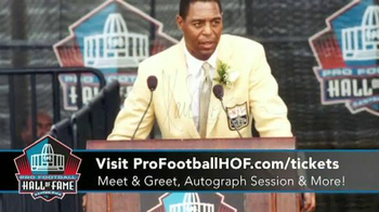 Pro Football Hall of Fame Gold Jacket Great Day TV Spot, 'Marcus Allen' - 38 commercial airings
