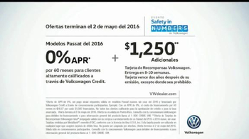 Volkswagen Evento Safety in Numbers TV Spot, 'Alas de hada' [Spanish] - Thumbnail 10