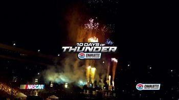 Charlotte Motor Speedway TV Spot, 'NASCAR: 10 Days of Thunder' - Thumbnail 1